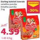 Allahindlus - Darling kuivtoit koerale