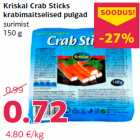 Allahindlus - Kriskal Crab Sticks