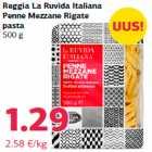Reggia La Ruvida Italiana Penne Mezzane Rigate pasta 500 g
