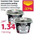 Allahindlus: Gourmet Club / Saare mascarpone puding