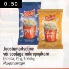 Магазин:Selver,Скидка:Микропопкорн