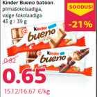 Kinder Bueno batoon