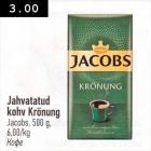 Allahindlus - Jahvatatud kohv Krönung