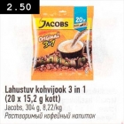 Allahindlus - Lahustuv kohvijook 3 in 1 (20 x 15,2 g kott)