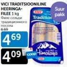 VICI TRADITSIOONILINE HEERINGAFILEE 1 kg