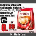 Lahustuv kohvijook Caffetteria Mokate 3in1