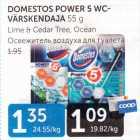 Allahindlus: DOMESTOS POWER 5 WC- VÄRSKENDAJA 55  g