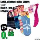 Allahindlus - Sokid, põlvikud, pöiad Gladys