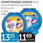 LENOR PESUGEEL-KAPSLID 47 tk