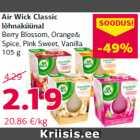 Allahindlus - Air Wick Classic lõhnaküünal