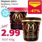 Allahindlus - Magnum jäätis