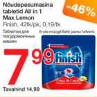 Nõudepesumasina tblrtid All in 1 Max Lemon