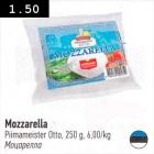 Allahindlus: Mozzarella