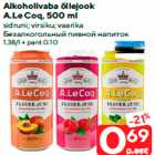 Allahindlus - Alkoholivaba õllejook A.Le Coq, 500 ml