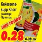 Allahindlus - Kukeseenesupp Knorr nuudlitega