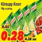 Allahindlus - Kiirsupp Knorr
