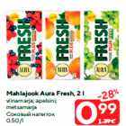 Allahindlus: Mahlajook Aura Fresh, 2 l