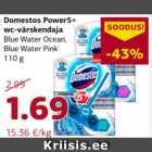 Allahindlus - Domestos Power5+ wc-värskendaja