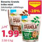 Bonavita Granola krõbe müsli