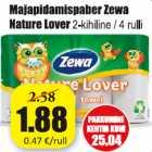 Majapidamispaber Zewa Nature Lover