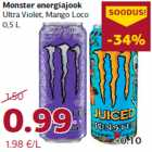Allahindlus: Monster energiajook