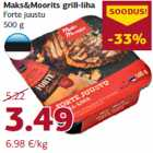 Allahindlus: Maks&Moorits grill-liha