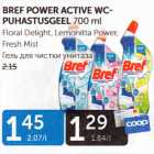 Allahindlus: BREF POWER ACTIVE WC- PUHASTUSGEEL 700 ML