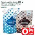 Kondenspiim Jaani, 250 g