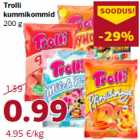 Allahindlus - Trolli kummikommid 200 g