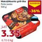 Allahindlus - Maks&Moorits grill-liha