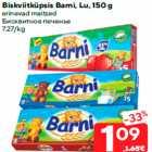 Biskviitküpsis Barni, Lu, 150 g