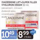 Allahindlus - DIADERMINE LIFT+SUPER FILLER HYALURON KREEM 50 ML