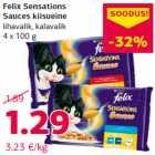 Allahindlus: Felix Sensations Sauces kiisueine