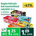 Regina Delicatis  Box kosmeetilised  salvrätid  110 tk