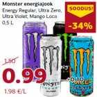 Allahindlus - Monster energiajook