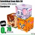 Allahindlus - Salvrätikud Zewa Kids 3D