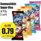 Koonusjäätis Super Viva