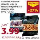 Allahindlus - Germund Premium pähklite segu ja kuivatatud jõhvikatepähklite segu