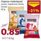 Allahindlus: Chipstar riisikrõpsud