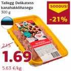 Tallegg Delikatess kanahakklihasegu 300 g