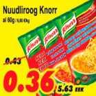 Allahindlus - Nuudliroog Knorr