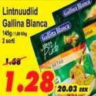 Allahindlus - Lintnuudlid Gallina Blanca