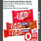 Allahindlus - Vahvel šokolaadis KitKat, Nestle