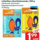 Lõhefilee viilud Kalameister, 100 g