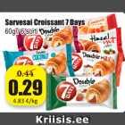 Allahindlus - Salvesai Croissant 7 Days