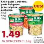 Allahindlus - Knorr pasta Carbonara