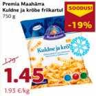 Allahindlus: Premia Maahärra Kuldne ja krõbe friikartul 750 g