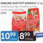 Allahindlus: DARLING KUIVTOIT KOERALE 10 kg