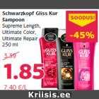 Schwarzkopf Gliss Kur šampoon