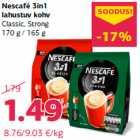Allahindlus: Nescafé 3in1 lahustuv kohv